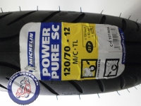 Reifen MICHELIN 120/70-12, Power Pure SC