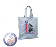 Shopping-Tasche Vespa, grau, indipendence