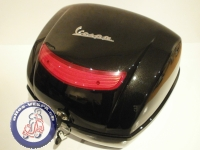 Top Case Vespa LX, schwarz met. Original